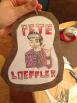Badge ~ Pete Loeffler by dragonflyxsilver