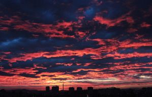 Morning sky by PiaD