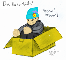 The Hobo-Mobile by j3-proto