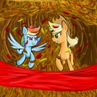 Running of the leaves by ImpCJCaesar