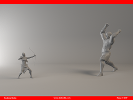 Capstone Pose 1 WIP by mr-hobes