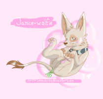 wolfie-janice's gift by Wild-Baguette