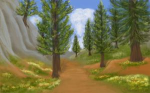 The Green Way by Sulmeldis-Ithilwen