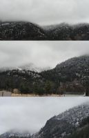 First Snow!! 2012 by ThePlushieLady