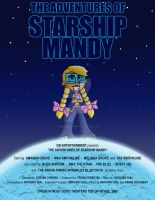Starship Mandy Movie Poster by Gummibearboy