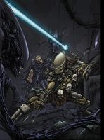 Alien Vs Predator by SiriusSteve