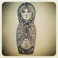 Matryoshka Three by Armadria