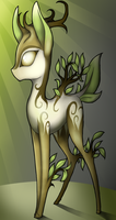 Forest Dryad by wingedwolf94