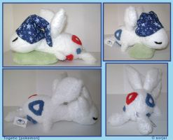 Sleeping Togetic Plush by sorjei
