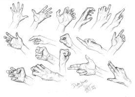 male hands study by kacey-lynn