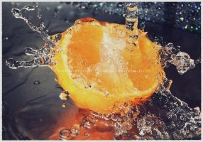 .chilled orange. by GrotesqueDarling13