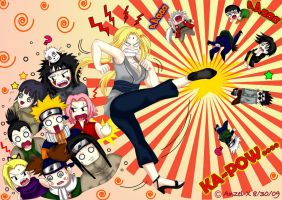 .:NaruTo OlD Skool-LUCKY 8:. by Anzel-X