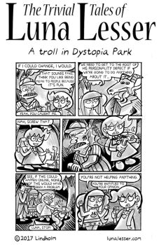 A Troll in Dystopia Park (7/8) by trivialtales