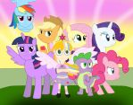 We All Work Together for Friendship by 04StartyOnlineBC88