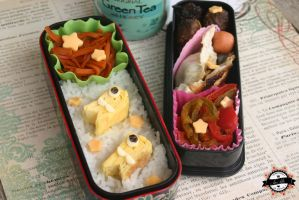 My back to school bento by RiYuPai