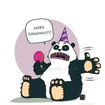 Gary the party panda by loungechap