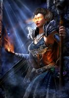 Conjurer by LeAndraDawn