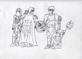 TK story lineart part 2 of 6 by 11rnolson