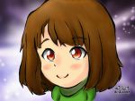 Smiling Chara by pokejustine001