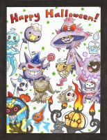 Pokepals Halloween: Ghost by Mystical-Kaba