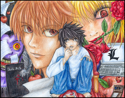 Death Note: Chained Lifes by Ame-Kunoichi