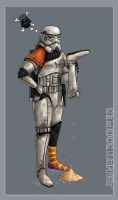 Sandtrooper: JCF Collage by DarthFar