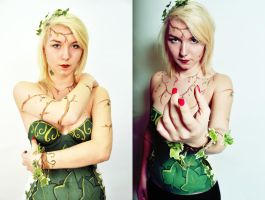 Poison Ivy Inspired Body Paint by metronewman