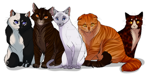Warrior Cat OC's (All) by IsharaHeart