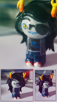 I made a mini Vriska too by PandaleonSaa