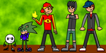 FusionFall-ised Ocs by AireDaleDogz
