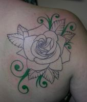 My Rose- Colored Filigree by CaszieBubblz
