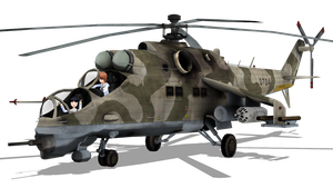 MMD Mi-24VM model download by RaiR-211