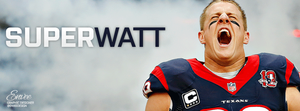 J.J. Watt (SuperWatt) - Facebook Cover by enveedesigns