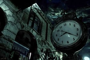 Deadwood Clock by NickBaker1689