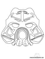 Tahu Nuva mask stencil by Pearllight180