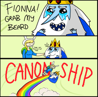 Fionna Grab My Beard MEME by Mayonaka-Zetsubo