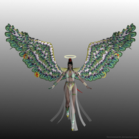 Competition entry - Bayonetta angel costume by Sterrennacht
