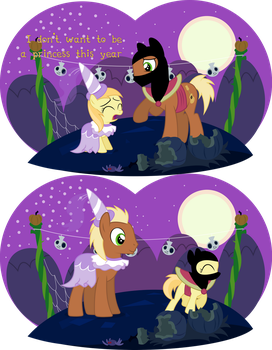 I don't want to be a princess this year by Lumorn