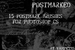 Postmarked - Brushes by vamp-kiss