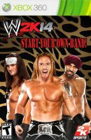 My WWE 2K14 Alternate game cover 2 (3MB) by ads2142