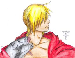 FMA: Better Ed Drawing by Spaniel122