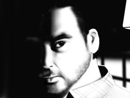 Takeo Saeki - Black and White by UncleHappy5