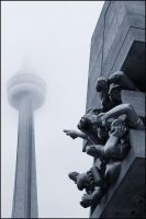 Is This a CN Tower? by IgorLaptev