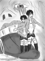 Attack on Titanic by LacriChan