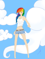 RainbowDash by NeniioN