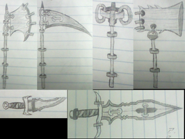 Ring Masters Weapons by ImAViewer