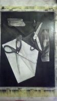 Charcoal Study 1 by eycoh