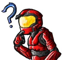 Do You Think I like Halo by Red8ball