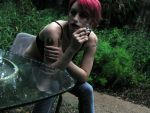 Smoking at Rebekka '08 by JaydedPixie