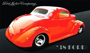 '38 Ford by kenpoist